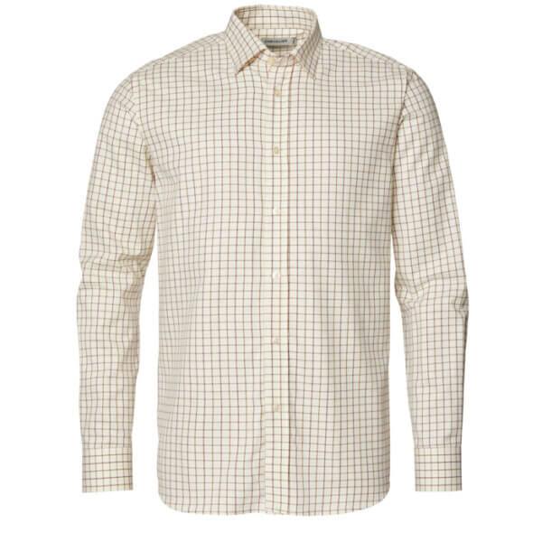 camisa clásica de cuadros con diseño para tiradores