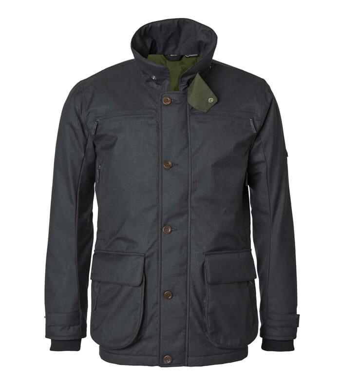 chaqueta impermable y acolchada