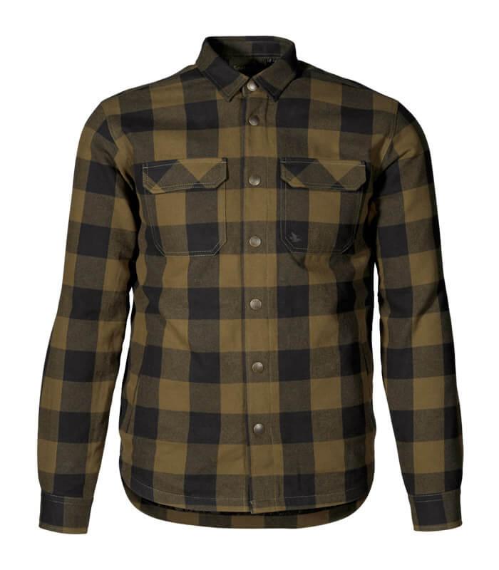 camisa de caza para frio caliente acolchada