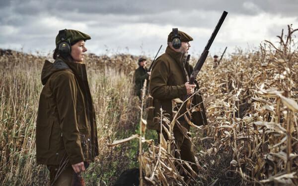 chaquetas caza menor
