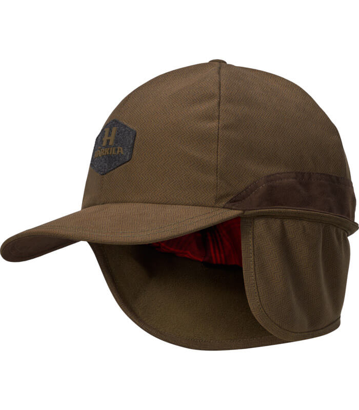 gorra caliente de caza con orejeas