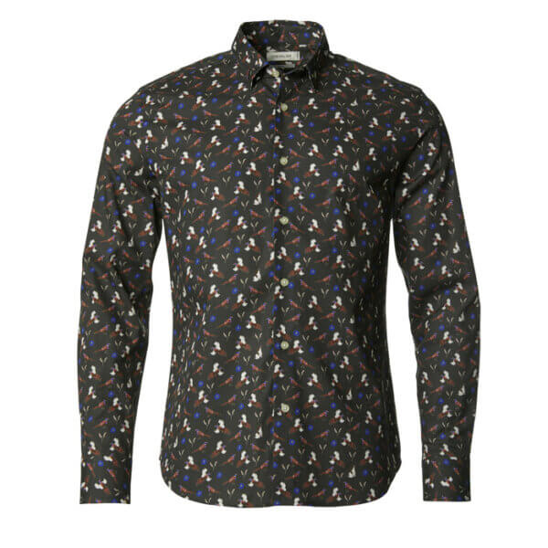 camisa de campo para hombre