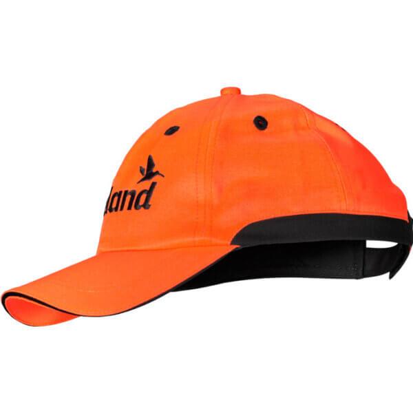 gorra de caza naranja de seguridad