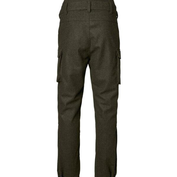 pantalones de lana para el campo de hombre