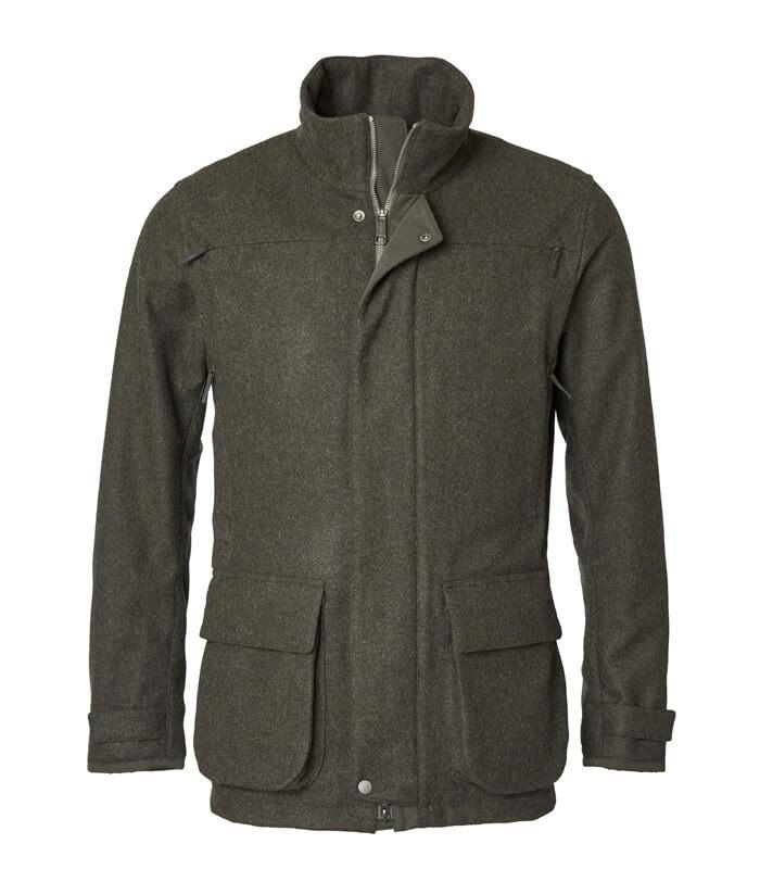 chaqueta de loden lana caliente campo y caza