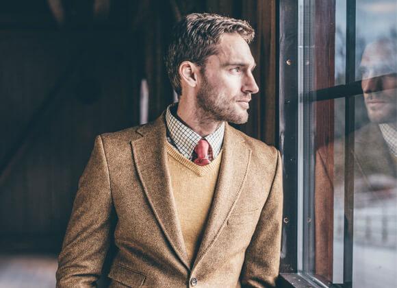 ropa de campo de hombre moda campera