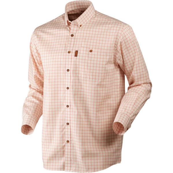 camisa de cuadro fino de caza harkila
