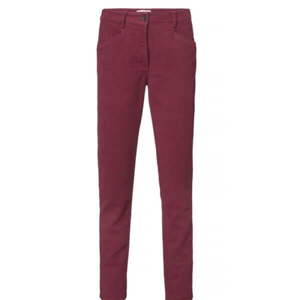 pantalones de algodon elastico de mujer