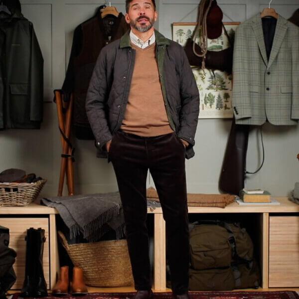 chaqueta husku hombre moda campo y caza